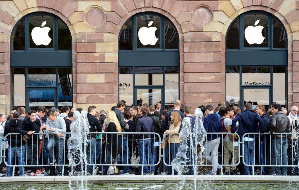apple store iphone x queue